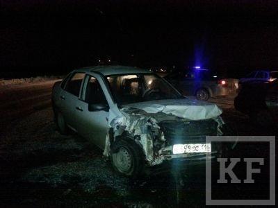 На трассе в Челны-Казань в ДТП пострадало 4 человека