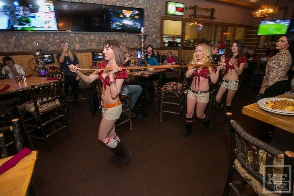 В Казани состоялось официальное открытие ресторана Twin Peaks