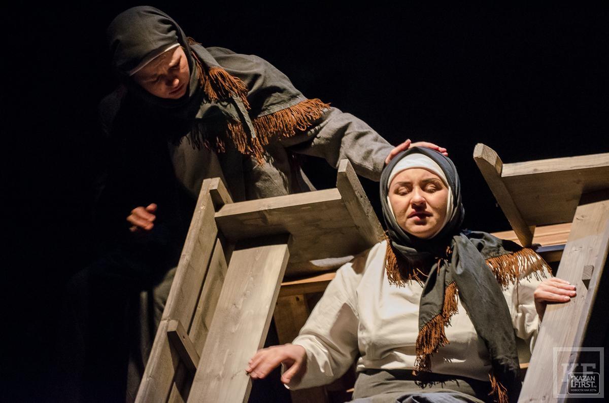 Проект «the Театр» представил в Казани спектакль «Девичий источник»