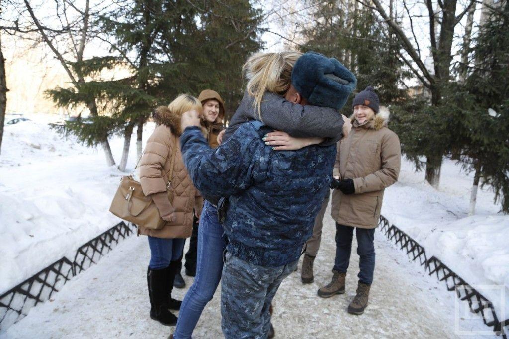 После полугодовой командировки на Кавказе полицейские вернулись в Нижнекамск