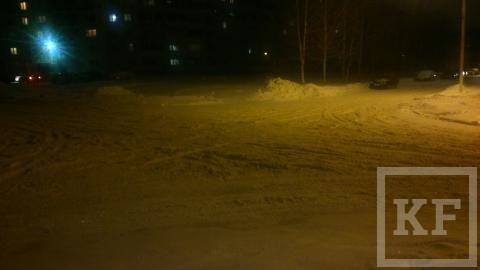 Жители Нижнекамска пожаловались в «Народный контроль» на сугробы и плохо очищенные дороги