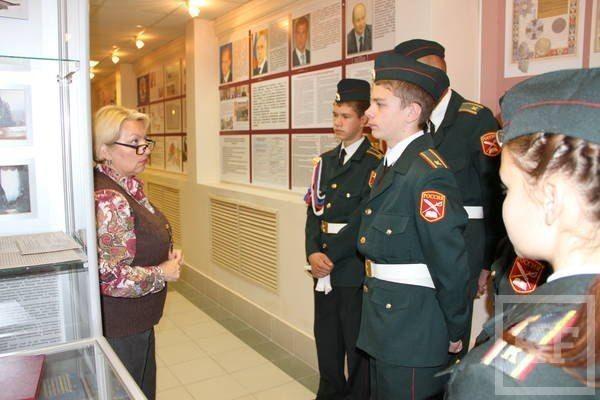 Кадеты из Чистополя посетили Управление наркоконтроля Татарстана