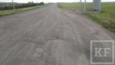 Жители Лениногорского района жалуются на бездорожье