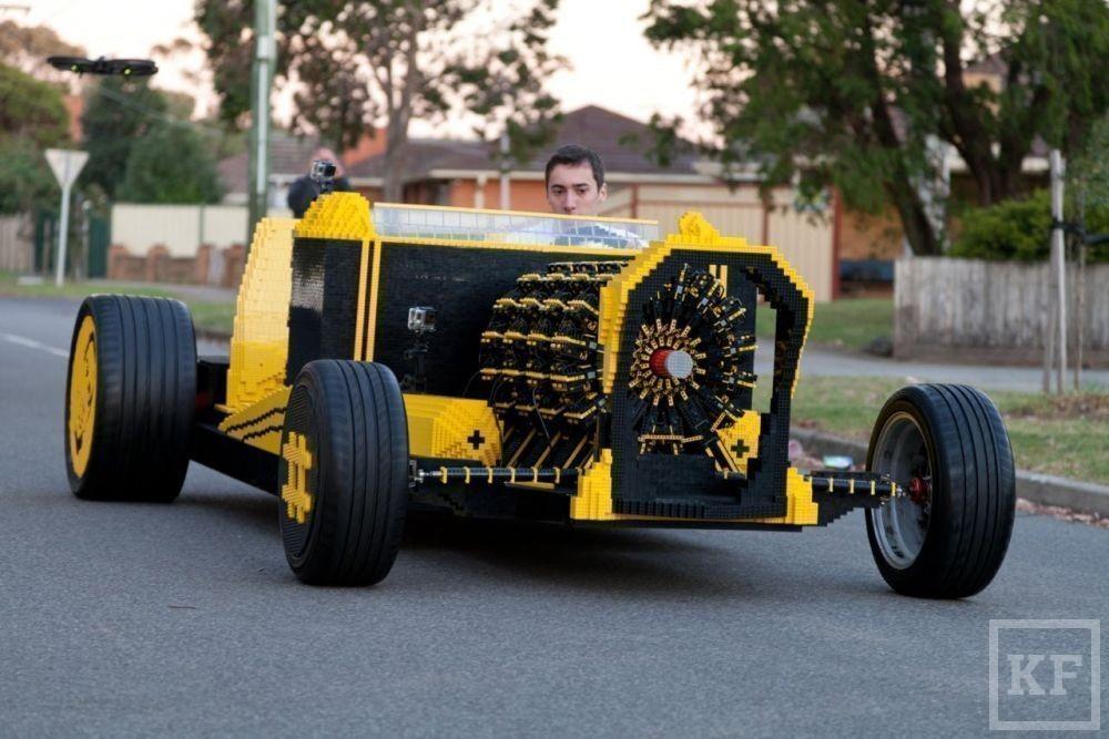 Из 500 тысяч деталей Lego собрали полнофункциональный автомобиль