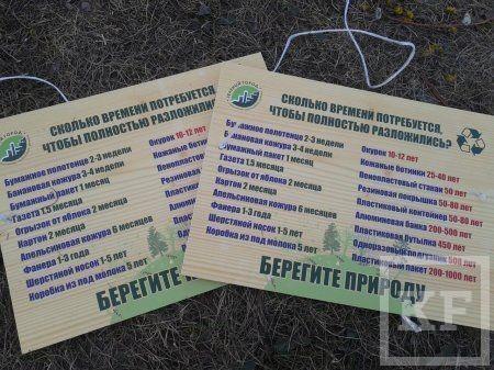 Более 20 мешков мусора вывезли активисты из леса в Челнах