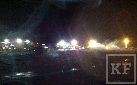 Опубликованы фотографии с места крушения Боинга 737