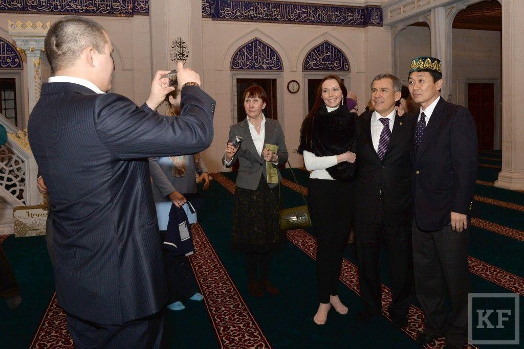 Рустам Минниханов встретился с соотечественниками в Японии