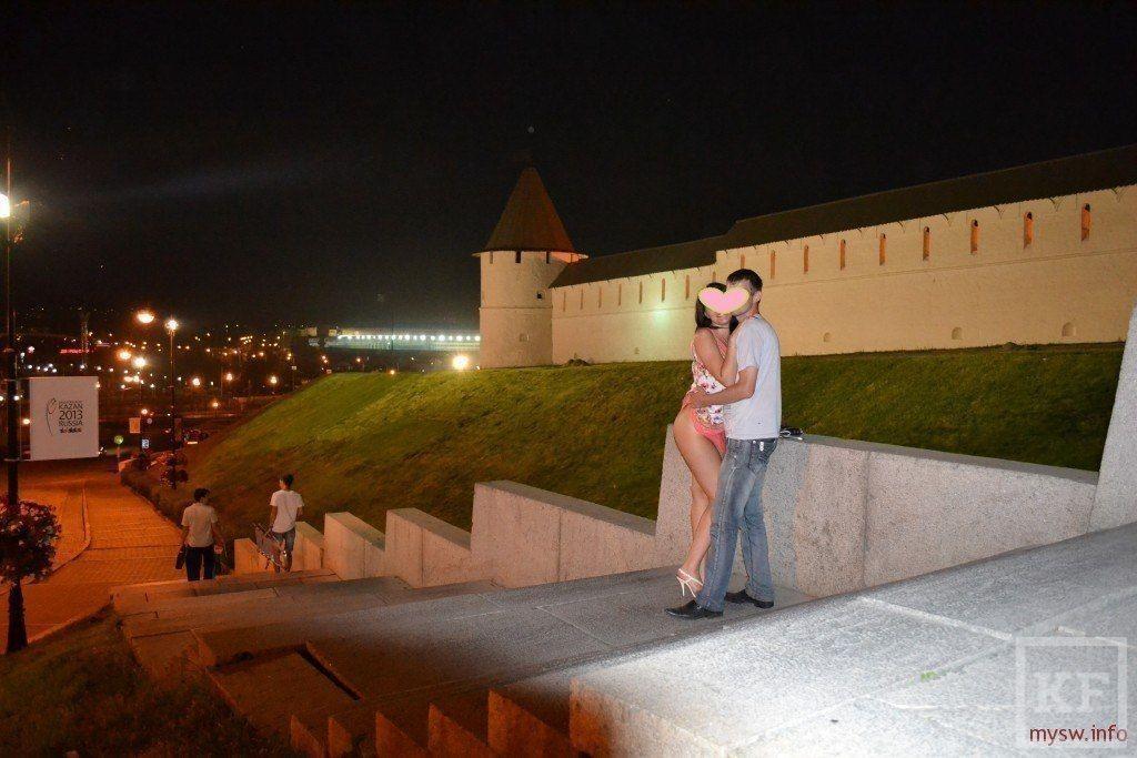 В Казанском Кремле состоялась очередная обнаженная фотосессия [фото]