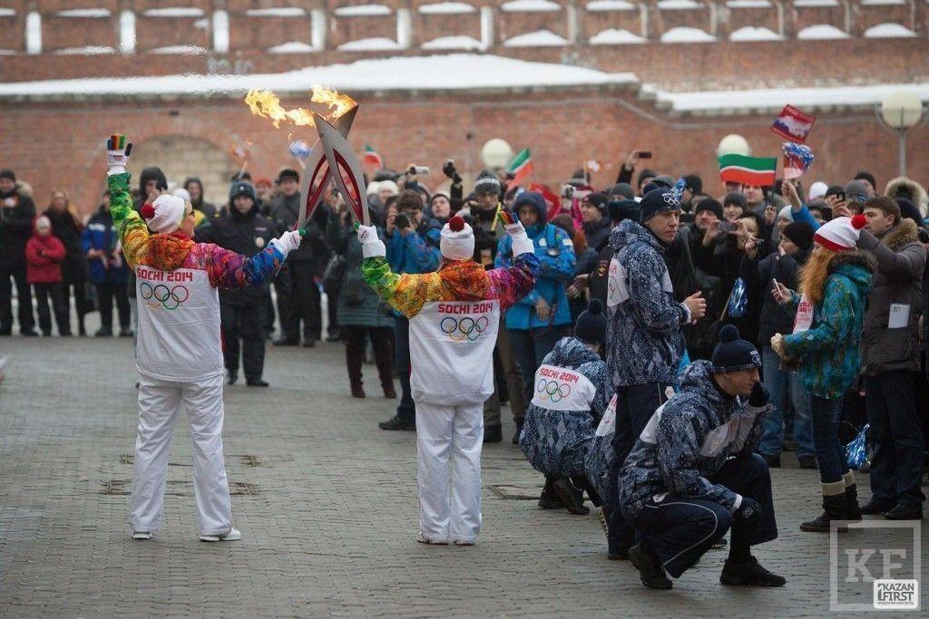 Сегодня в Казани завершился татарстанский этап эстафеты Олимпийского огня