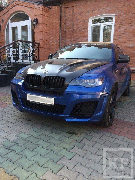 Объявление о продаже золотого BMW X6M в Казани может оказаться «фейком»