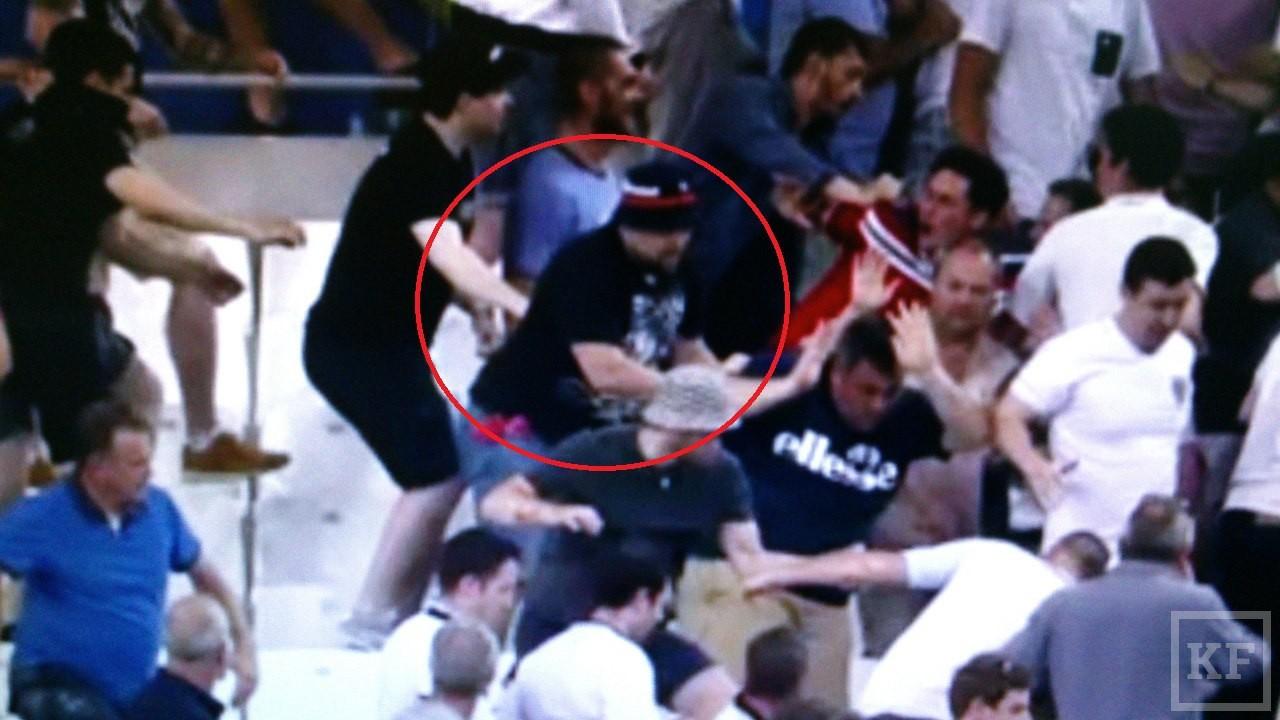 Сотрудник отдела по работе с болельщиками ФК «Рубин» участвовал в фанатских беспорядках в Марселе