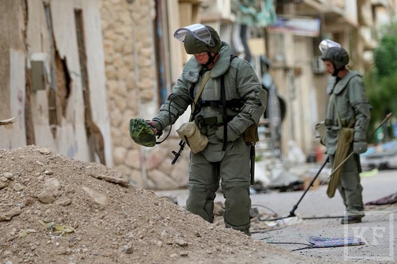Российские саперы помогают вернуть Сирию к нормальной жизни