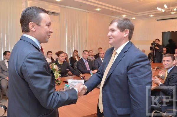 Ильдар Халиков представил коллективу Агентства инвестиционного развития РТ нового руководителя