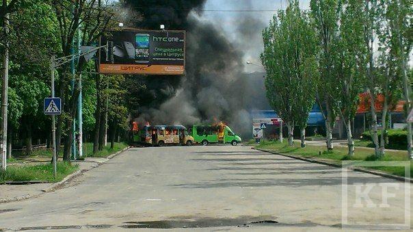 Ополченцы: в Краматорске вновь начался бой