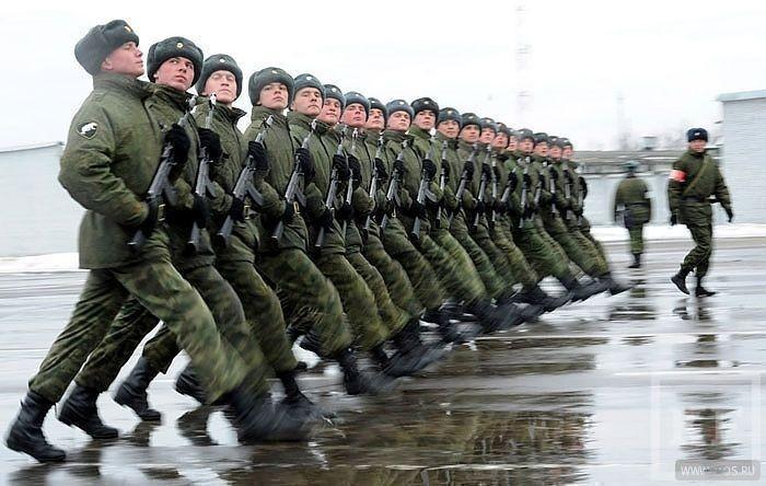 Теперь ты в армии