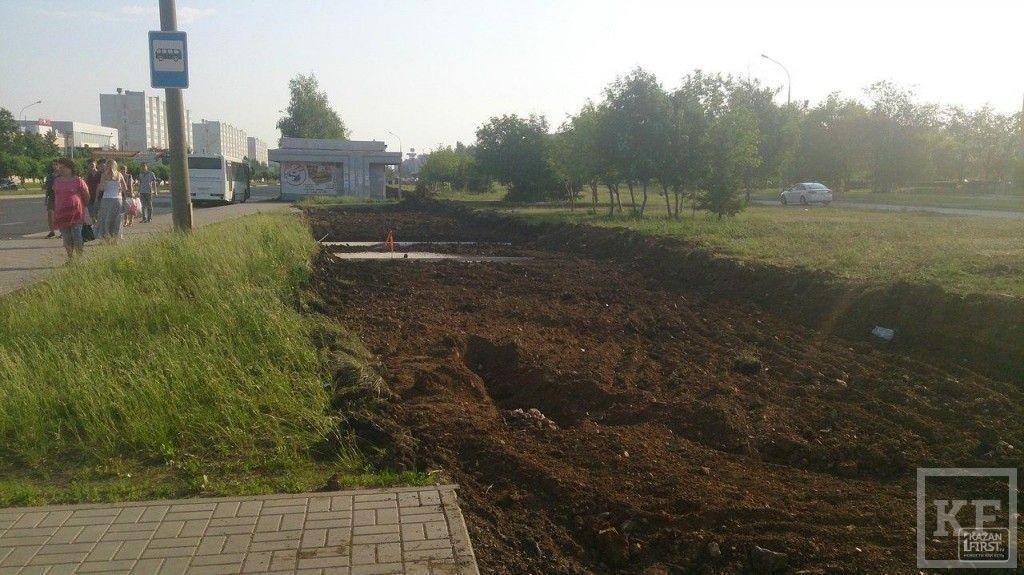 Последний из могикан: на пути строительства трамвайной ветки в Набережных Челнах остался единственный торговый павильон
