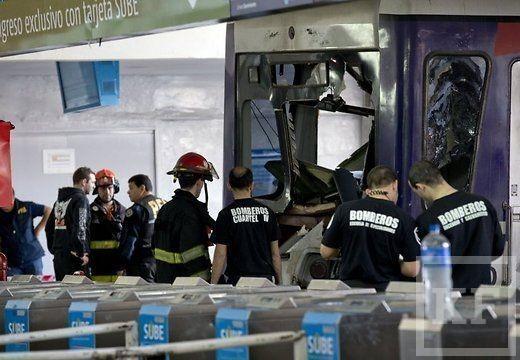 Катастрофа на вокзале Буэнос-Айреса унесла жизни более 50 человек