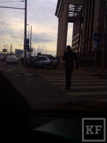 В понедельник утром в Казани произошло несколько серьезных ДТП [фото]