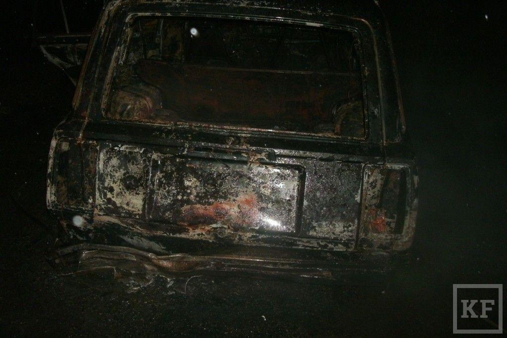 В Зеленодольске произошло возгорание автомобиля