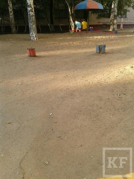 За сутки на портал госуслуг от жителей Нижнекамска поступили четыре жалобы на плохие детские площадки