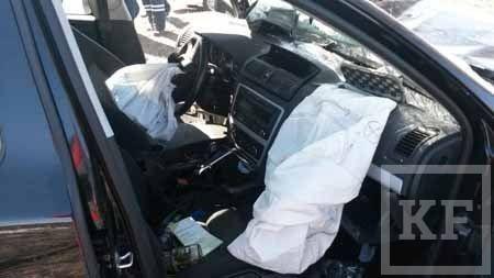 В результате серьезной аварии в Нижнекамске водитель впал в кому