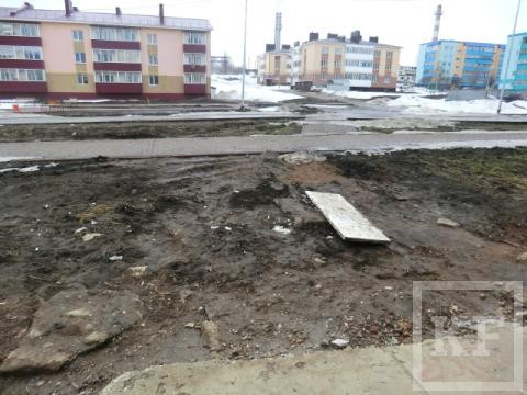 Из-за грязи на улицах жители Лениногорска просят чиновников научить их летать