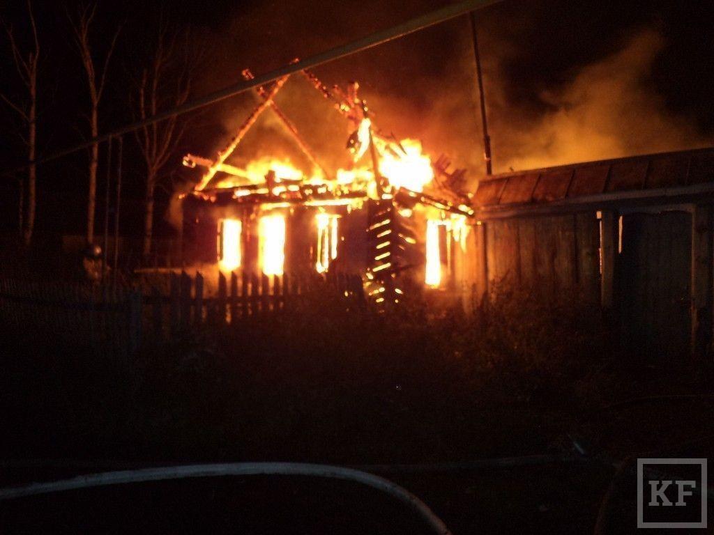 В Татарстане в результате пожара погиб человек