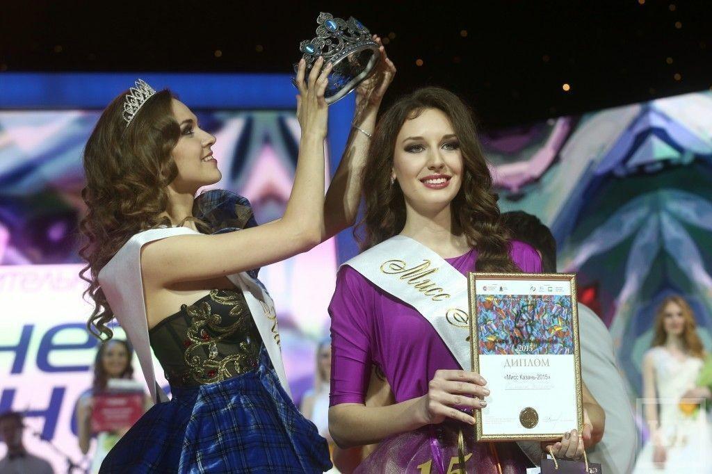 Победительницей конкурса «Мисс Татарстан-2015» стала Виктория Романова из Казани