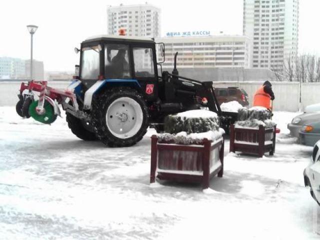 За игнорирование уборки снега исполком Челнов будет штрафовать предпринимателей