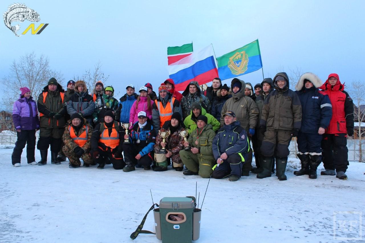 Житель Чистополя стал призером Кубка Татарстана по зимней рыбалке