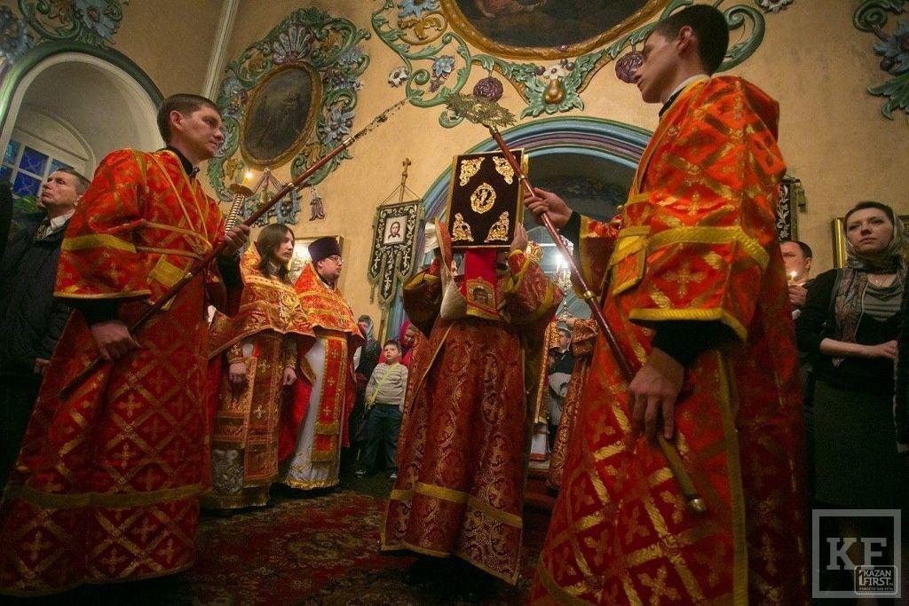 Как жители Казани встретили Пасху