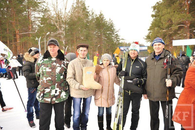 Жители Набережных Челнов вышли на лыжню