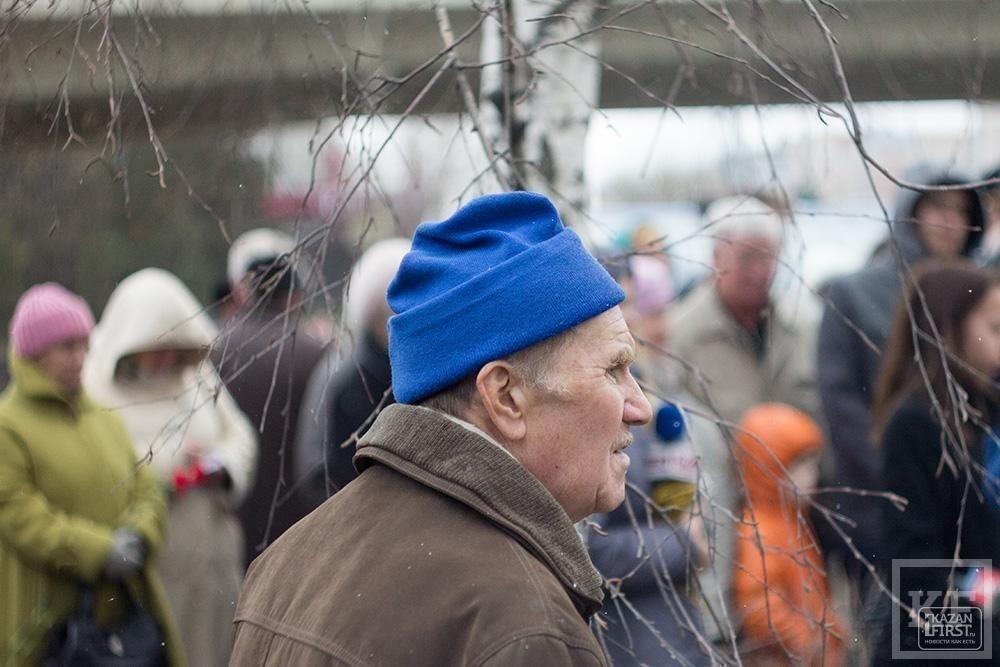 Митинг памяти ликвидаторов катастрофы на Чернобыльской АЭС