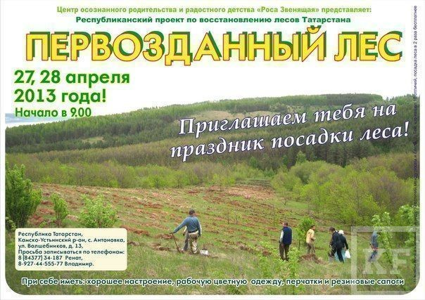 Праздник посадки первозданного леса