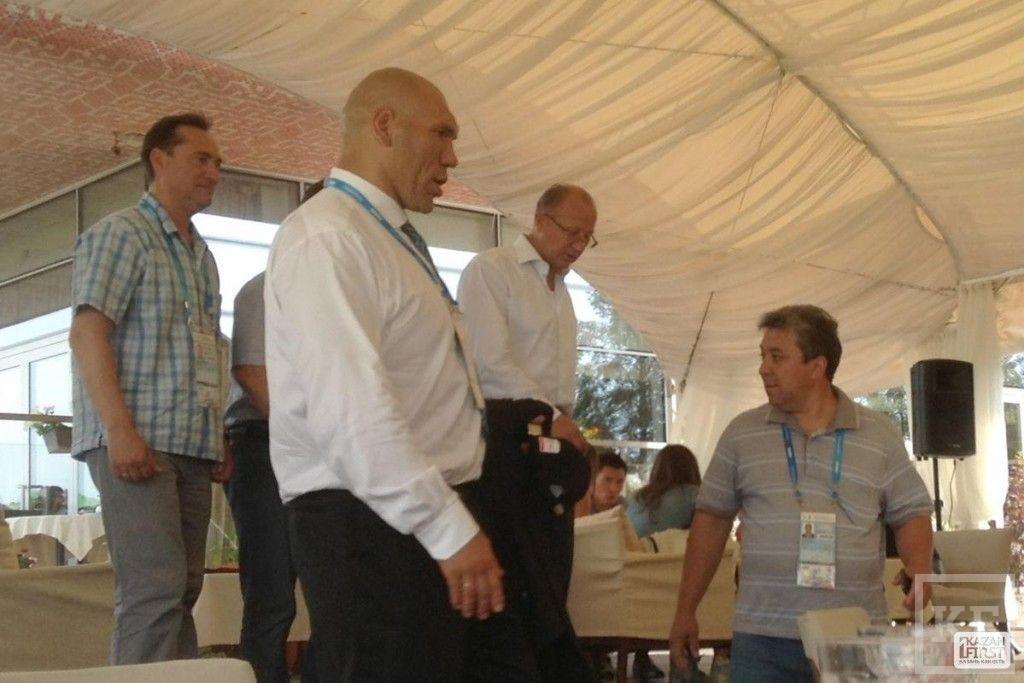 Николай Валуев высоко оценил готовность Казани к Универсиаде (фото)