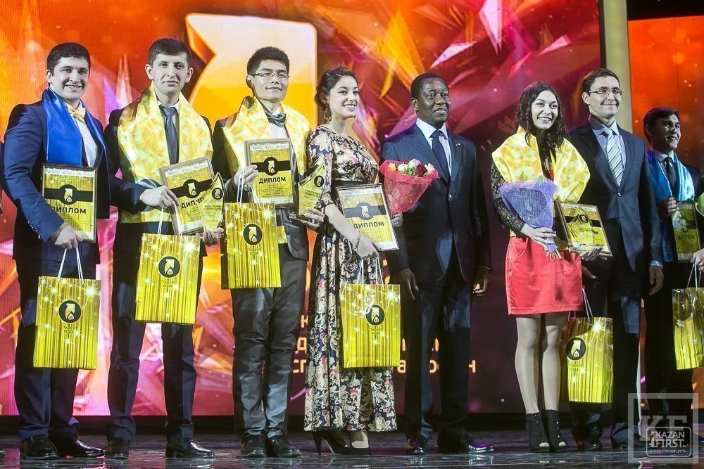 Церемония вручения X ежегодной студенческой премии «Студент года-2014»