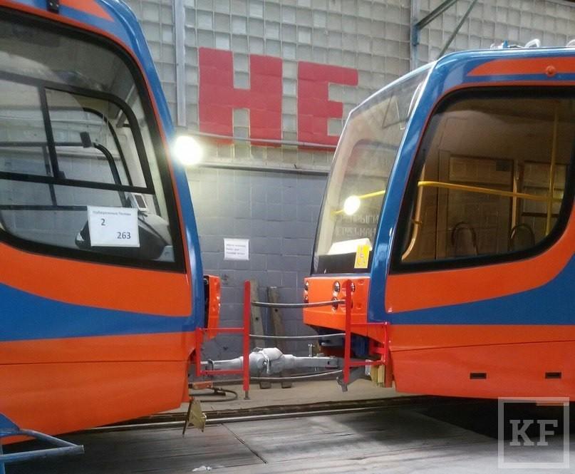 В ближайший месяц из Усть-Катава в Челны доставят четыре новых трамвая