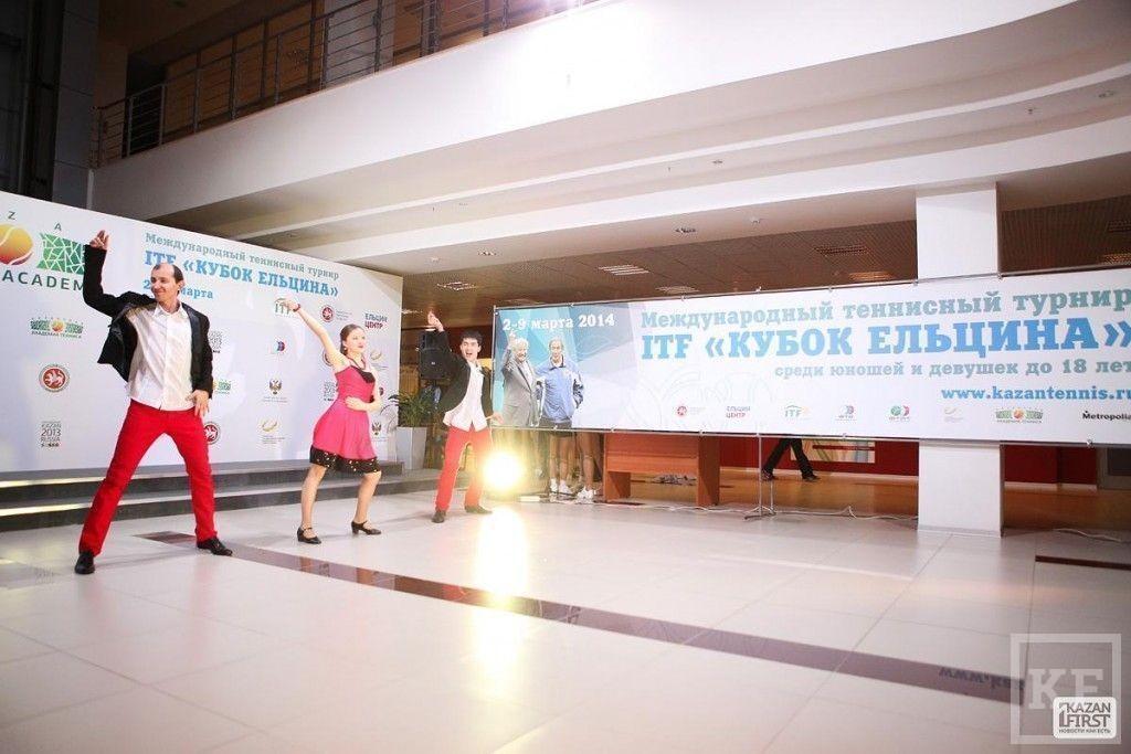 Наина Ельцина на теннисном турнире «Кубок Ельцина» в Казани