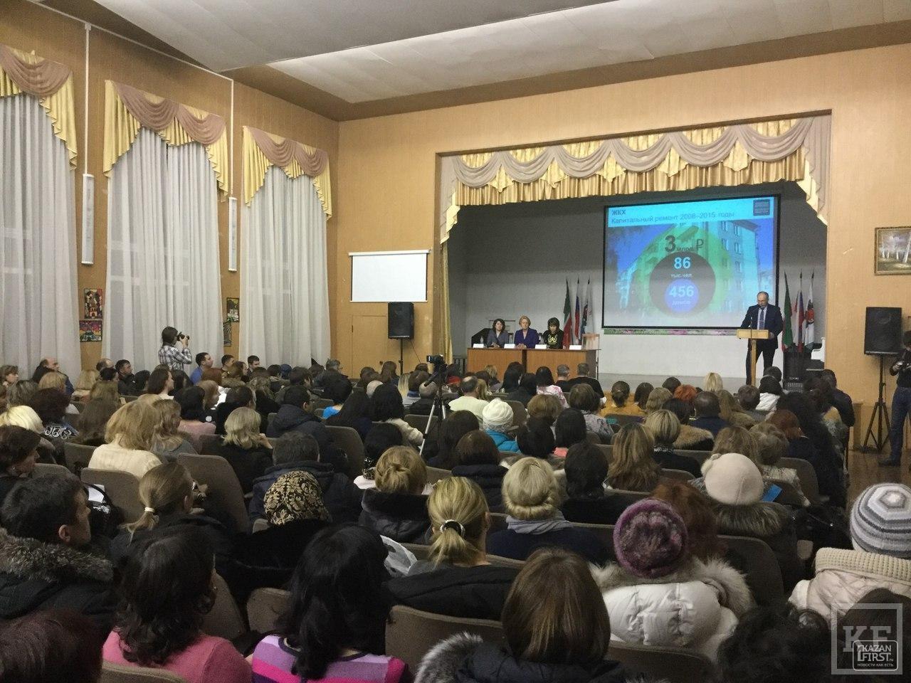 Самый дисциплинированный вице-мэр: депутат Казгордумы Евгения Лодвигова отчиталась перед избирателями