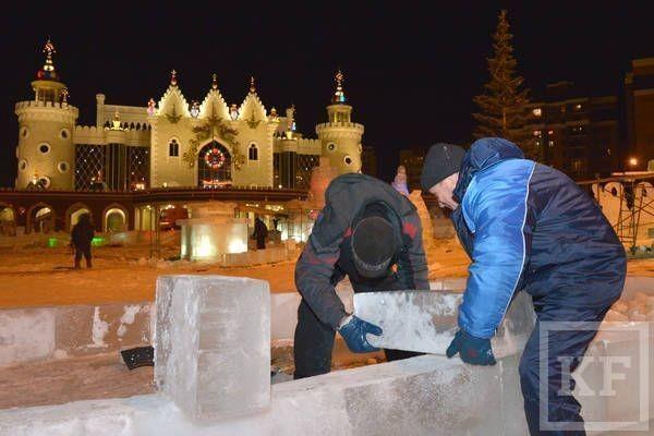Рустам Минниханов посетил в Казани места праздничных гуляний