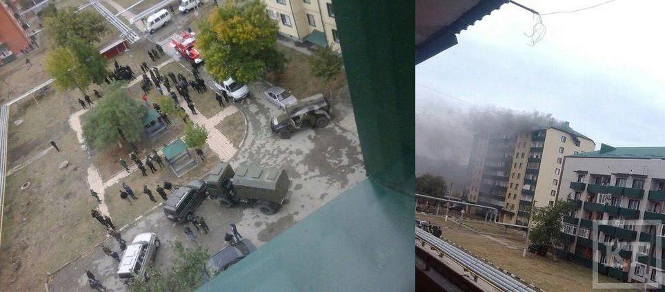 В ходе ликвидации боевиков в Чечне ранены трое полицейских