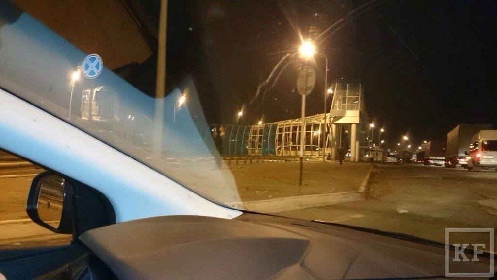 В районе Мамадыша обрушился пешеходный мост — пострадавших нет