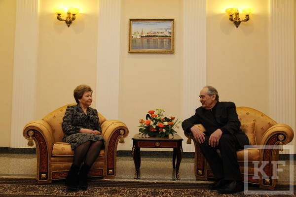 Наина Ельцина: Татарстан прогрессирует