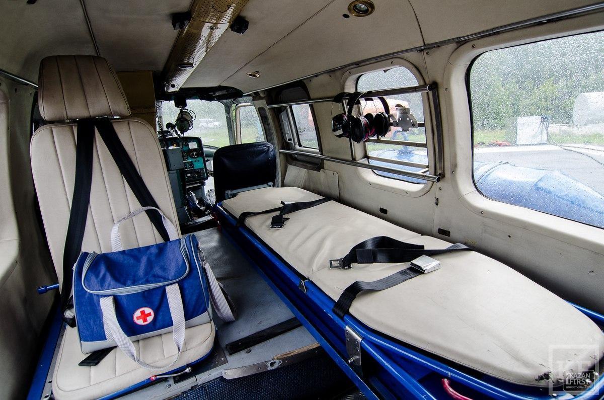 Как работает санитарная авиация в дни проведения ЧМ по водным видам спорта
