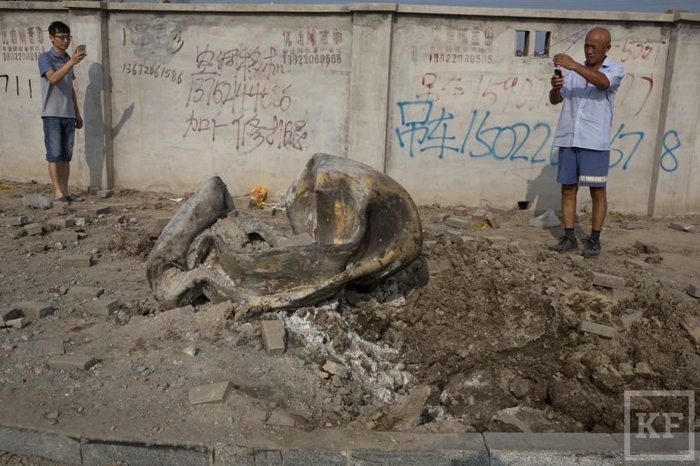 Вчерашний взрыв в Китае унес жизни 50 человек, свыше 700 – госпитализированы