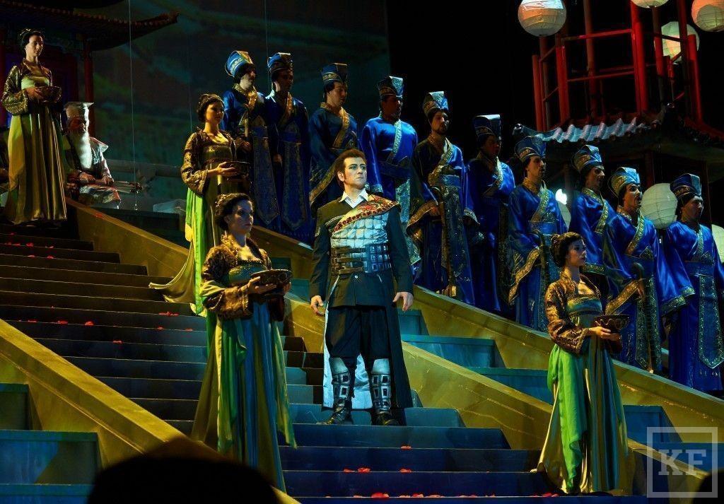 Шаляпинский фестиваль открыла опера «Турандот»