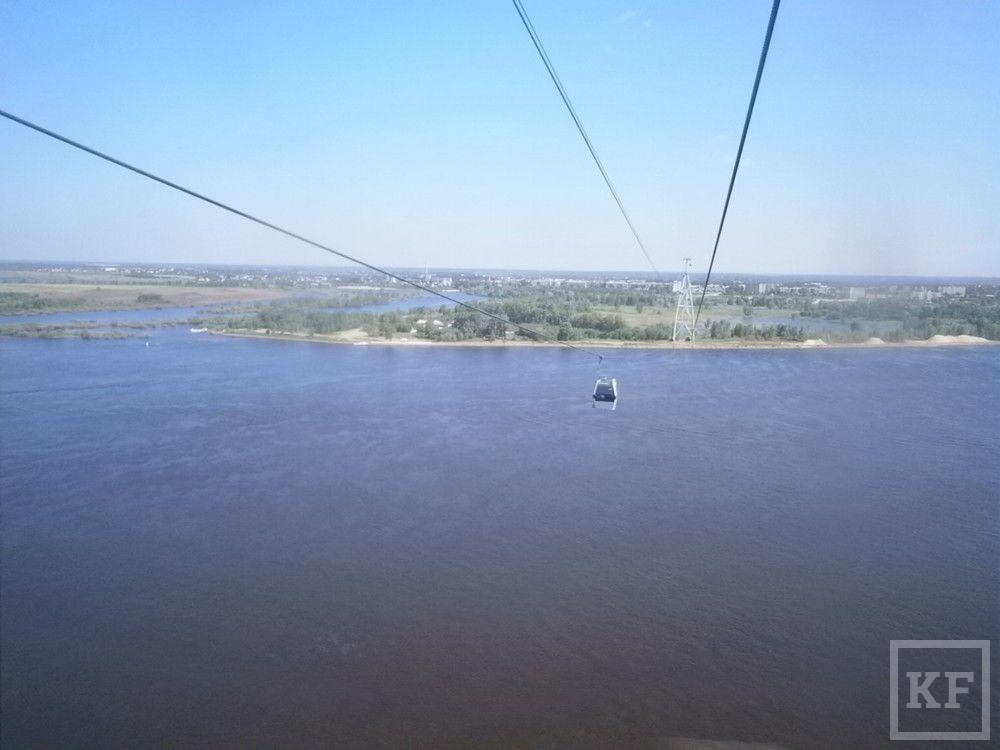 Канатная дорога в Казани ищет инвестора
