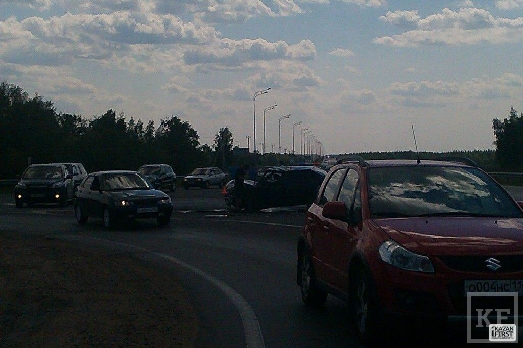 Под Усадами столкнулись два автомобиля, есть пострадавшие [фото]