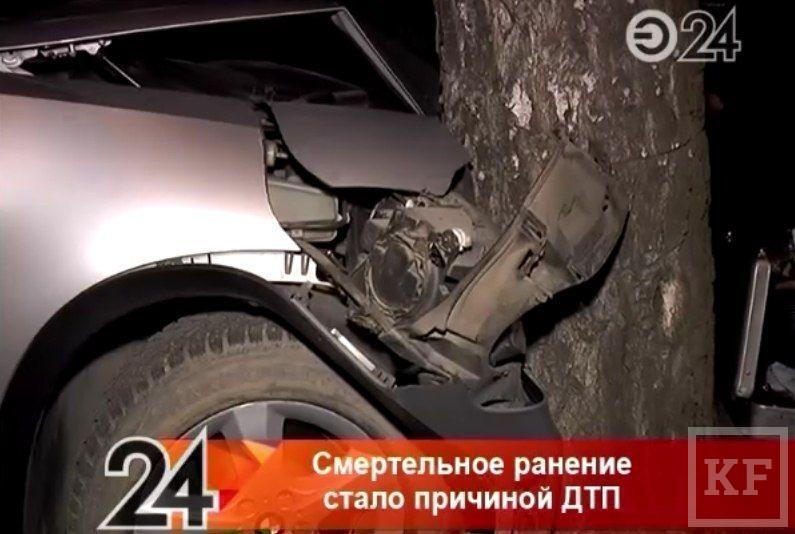 BMW X5, водитель которой скончался от ножевого ранения, принадлежала театру Камала