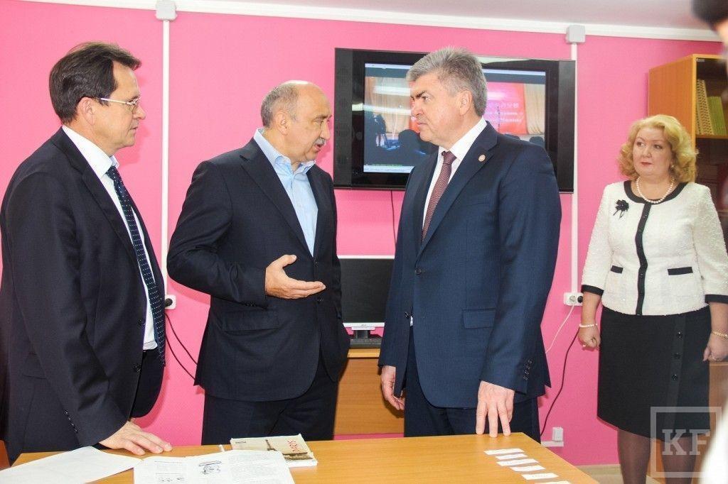 Социально-гуманитарное отделение Набережночелнинского института КФУ переехало в бывшую библиотеку «Камаза»